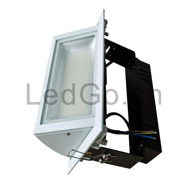 spot encastrable rectangulaire 48w led smd samsung orientable. Black Bedroom Furniture Sets. Home Design Ideas