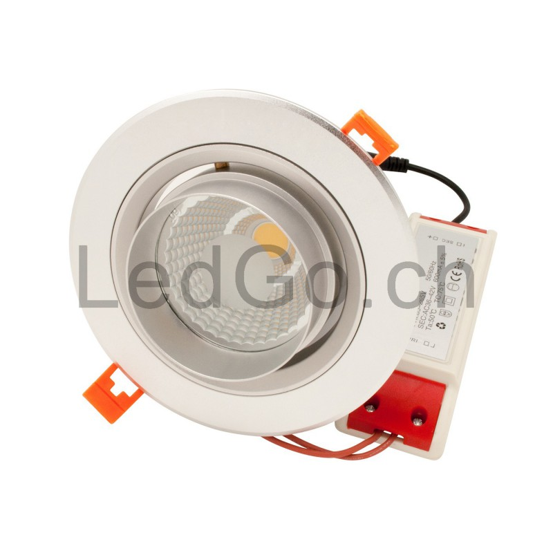Spot encastrable 30w led cob citizen orientable - Spot encastrable orientable ...