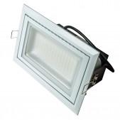Spot encastrable rectangulaire 48W LED SMD Samsung orientable blanc pur