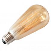 Ampoule 8W E27 filament LED COG ST64 dimmable