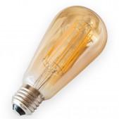 Ampoule 10W E27 filament LED COG ST64 dimmable