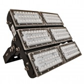 Projecteur LED 300W SMD3030 multi directionnel alimentation MeanWell