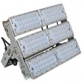 Projecteur LED 600W SMD3030 multidirectionnel alimentation MeanWell blanc pur