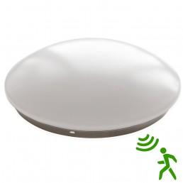 Plafonnier LED 20W avec détecteur de mouvement temporisation et fonction Veilleuse