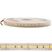 Bande LED 20W/m 24V IP65 980 SMD2835 5M 120lm/W blanc pur