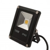 Projecteur LED plat 10W COB IP65 12-24V DC blanc chaud