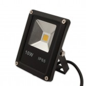 Projecteur LED plat 10W COB IP65 10-80V DC blanc froid