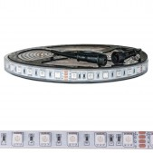 Bande LED 72W RGB 24V IP65 SMD5050 5M