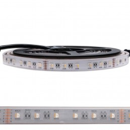 Bande LED 96W RGB+WW 4 en 1 24V IP68 SMD5050 5M