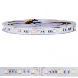 Bande LED 120W RGB+CCT 5 en 1 24V IP20 SMD5050 5M
