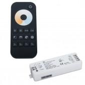 Set contrôleur 240W tension stabilisée + télécommande CCT 1 zone 4 scenes 2.4G