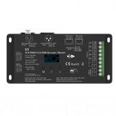 Contrôleur slave 5CH DMX512+RDM tension stabilisée écran OLED
