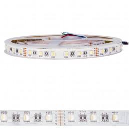 Bande LED 96W RGBW (3000°K) 4 en 1 24V IP20 SMD5050 5M