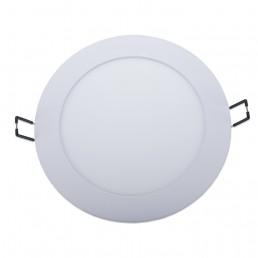 Panneau rond LED 12W 170x21mm encastrable CCT ( 3000°K-4000°K-5700°K ) découpe 157-162mm