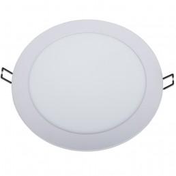 Panneau rond LED 18W 225x21mm encastrable CCT ( 3000°K-4000°K-5700°K ) découpe 205-212mm