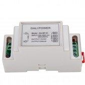Alimentation BUS DALI pour 2 circuits DALI 15V 200mA D 87.4x36.4x60mm