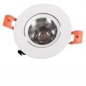 Spot encastrable 7W LED COB orientable blanc chaud DALI dimmable
