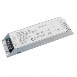 Alimentation contrôleur récepteur RF + push dim. tension stabilisée 4 canaux 150W 230V AC/24V DC