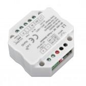 Module variateur récepteur RF à 0-10V + push dim. 1 canal 230V AC