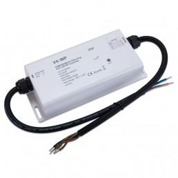 Contrôleur récepteur RF tension stabilisée 4 canaux étanche IP67