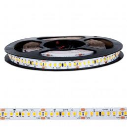 Bande LED 20W/m 24V blanc chaud IP20 910 SMD2835 5M 130lm/W Ra:91