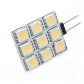 Ampoule LED G4 1.44W SMD5050 blanc chaud 12V