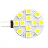 Ampoule LED G4 2.88W SMD5050 blanc chaud 12V