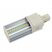Ampoule LED G24 10x0.5W SMD5630 Samsung orientable blanc chaud