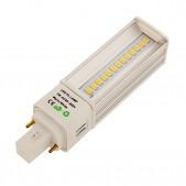 Ampoule LED G24 14x0.5W SMD5630 Samsung orientable blanc chaud