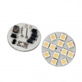 Ampoule 2W G4 LED SMD5050 blanc chaud 12V vertical