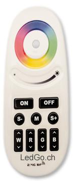 Télécommande contrôleur RGBW 240W