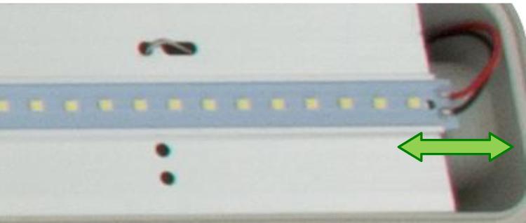 Bandeau LED amovible